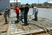 Photo of Concrete construction work by George Throop Company on Remote Island