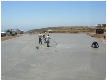 Island concrete construction projects completed by the George L. Throop Company