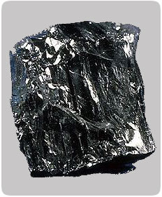 Image photo of magnified Anthracite coal available from George Throop Company in Pasadena, CA