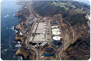 San Diego specialty concrete Outfall project by George Throop Company