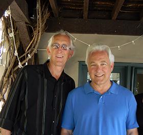 George Throop, Jr., and Jeff Throop