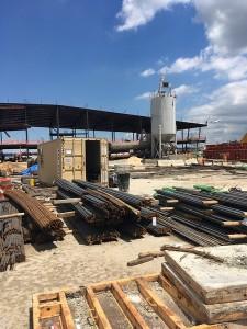 LaGuardia airport cellular concrete construction project