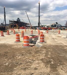 LaGuardia airport cellular concrete project