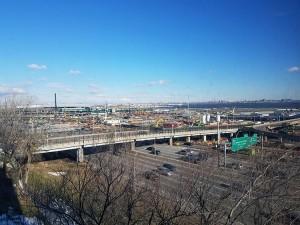 View of LaGuardia airport job site 2017